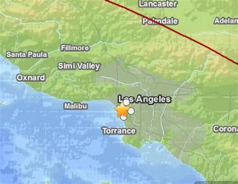 Earthquake Near Me Today | earthquake today in california small quake near los