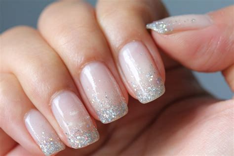 Manicure Pedicure dsk steph s nails glitter waterfall shellac nails