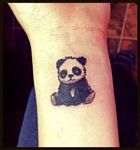panda tattoo small 8 wrist panda tattoos