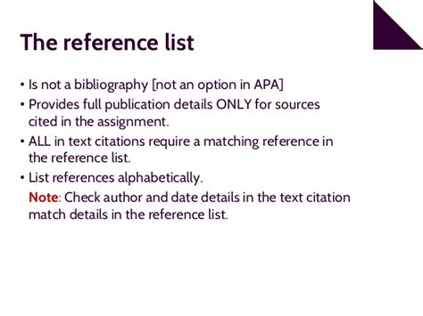 apa format numbers in text 6th edition apa 6th edition referencing part 2 reference list
