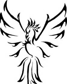 15 beautiful tribal phoenix tattoos only tribal