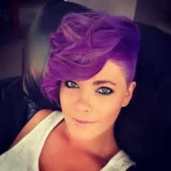 purple hair genevieve warburton