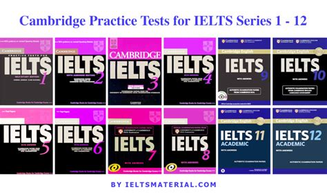 The Official Cambridge Guide To Ielts Audio Listening cambridge practice tests for ielts series 1 12 with answers audio