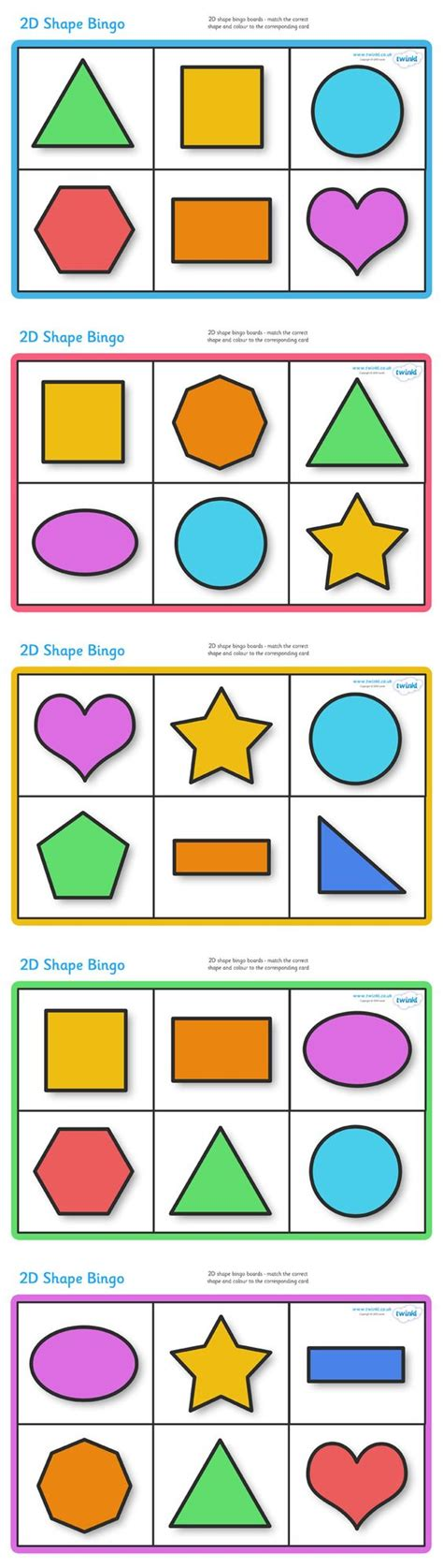 printable games classroom twinkl resources gt gt 2d shape bingo gt gt classroom printables