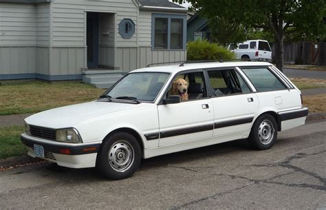 peugeot 505 usa curbside classic 1989 peugeot 505 wagon the last of the