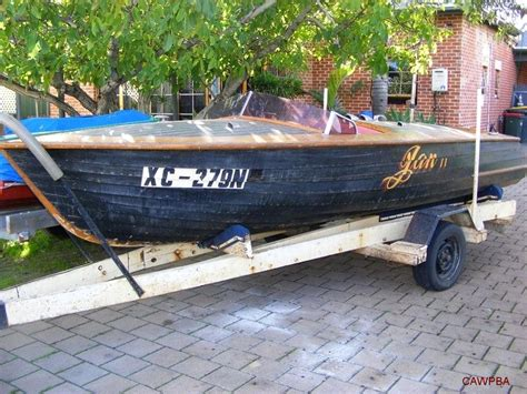 boat motor for sale wagga images and information on reader s wooden powerboats