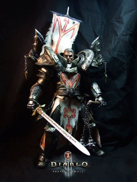 diablo 3 figures crusader 1 6 scale custom figure diablo 3 and