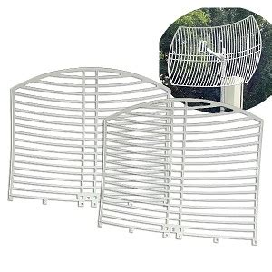 New Sale Tp Link 2 4ghz 24dbi Grid Parabolic Antenna Tl Ant2424b evertek wholesale computer parts 2 4ghz 24dbi outdoor grid dish antenna w cable ant2400d24a