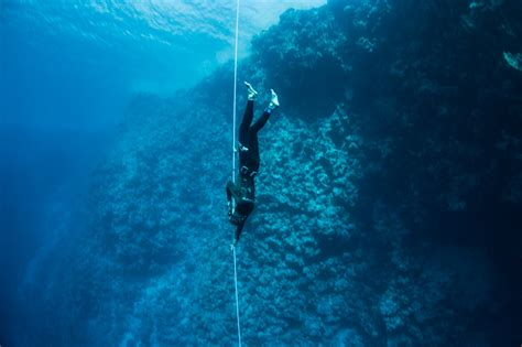 advanced freediving course desert divers