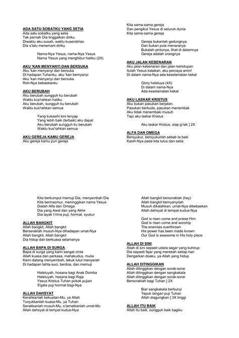 Lirik Lagu Alfa Omega Selamat Hari Natal Dan Tahun Baru
