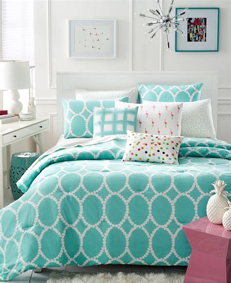 turquoise bedding turquoise and white bedding set product selections homesfeed