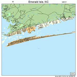 emerald island carolina map emerald isle carolina map 3721160
