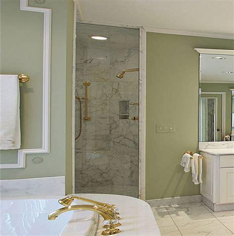 single shower doors glass single glass shower doors dulles glass