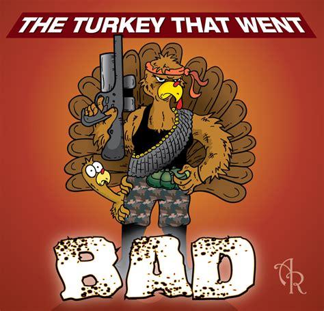 bad türkis turkey illustration the turkey that went bad