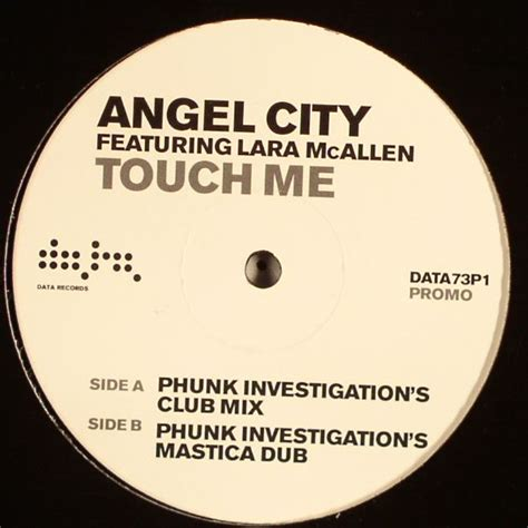 city touch me phunk investigation s club mix city feat lara mcallen touch me vinyl at juno records