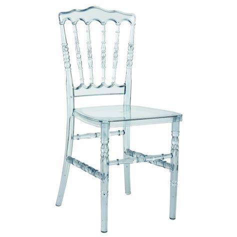 location de chaise mariage chaise napoleon transparente