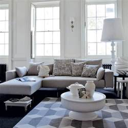 Grey And White Living Room by 69 Fabulous Gray Living Room Designs To Inspire You