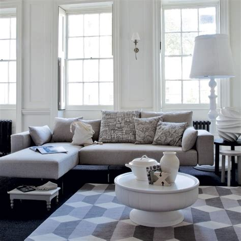 69 Fabulous Gray Living Room Designs To Inspire You Grey White Living Room