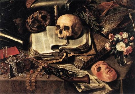 Tableau Sur La Vanité by Vanitas Vanitatum Omnia Vanitas Vanity Of At