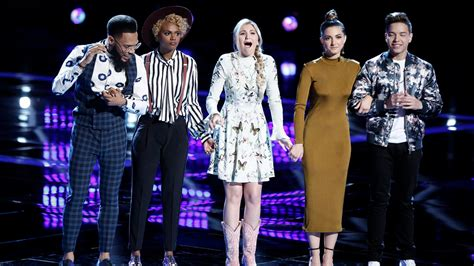 Winer S12 the voice 2017 season 12 semifinal winners top 4 who will win the