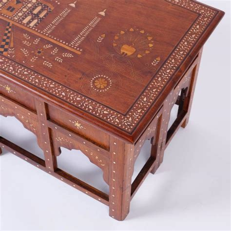 Antique Indian Coffee Table Antique Anglo Indian Mahogany Coffee Table For Sale At 1stdibs