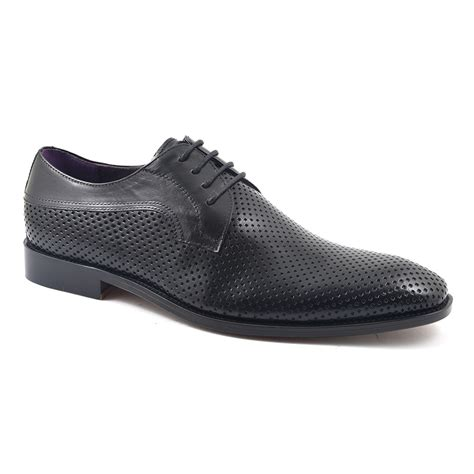 Sale Co Nelly Shoes Ori buy black mesh derby mens shoes gucinari