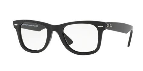 Bingkai Kacamata Rayban 2012 Black Blue Glossy ban rx4340v wayfarer eyeglasses ezcontacts