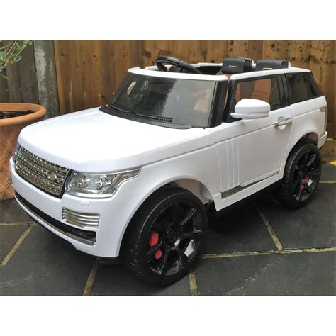 land rover vogue sport kids range rover vogue svr sport style electric ride on