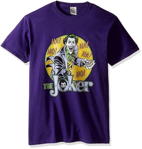 Tshirt Joker batman the joker s t shirt purple ebay