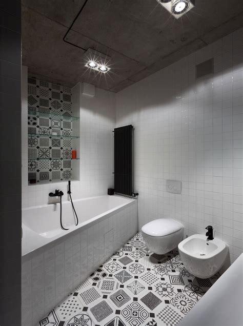 badkamer mat zwart wit moderne zwart wit badkamer met een mooie tegel mix huis