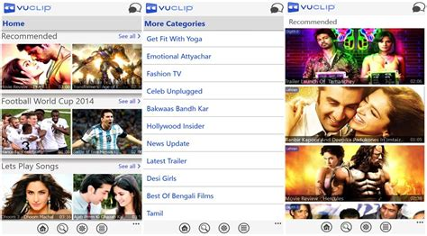 vuclip mobile search mobile service vuclip arrives on windows phone with