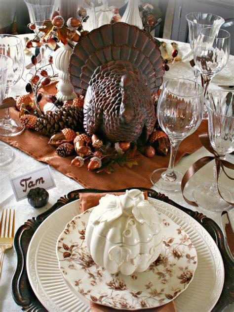 modern furniture design thanksgiving table settings decoration 2013 ideas from hgtv