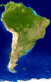 image of south america map south america satellite image