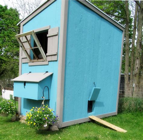 Shed Chicken Coop white shed chicken coop diy projects