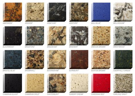 colors of quartz countertops quartz colors styles ebie construction
