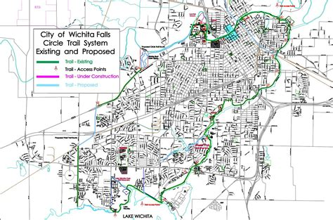 wichita falls map trail maps wichita falls tx official website