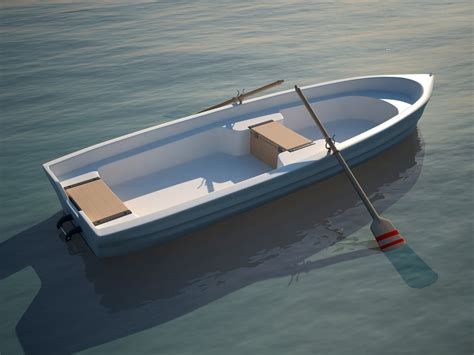 simple boat 3d 3ds boat fishing