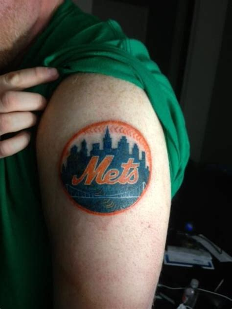 ny mets tattoo pin by new york mets on mets ink