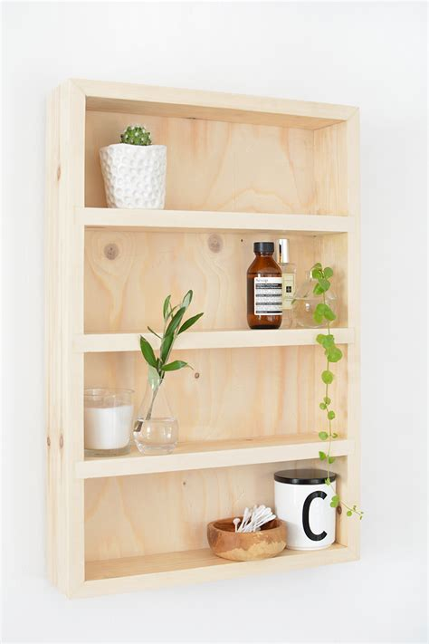 diy bathroom storage shelf burkatron