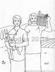 cain and abel coloring pages cain and abel printable coloring pages