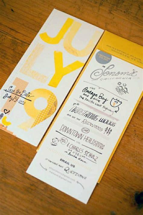 Originelle Einladungskarten Hochzeit by 51 Originelle Designs Hochzeitseinladungen Archzine Net
