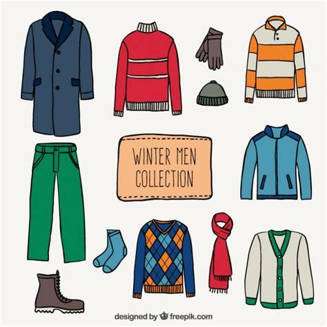imagenes de invierno ropa colecci 243 n de ropa de hombres de invierno descargar