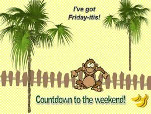 Greetings For Wedding Card Countdown To The Weekend Free Enjoy The Weekend Ecards