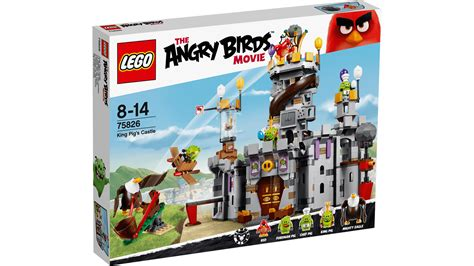 Lego Angry Birds King Pig 75826 king pig s castle products lego 174 the angry birds