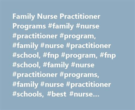 family practitioner programs 25 best ideas about family practitioner on