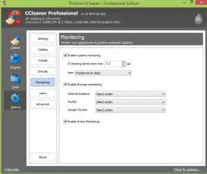 ccleaner enable active monitoring how to use ccleaner s advanced features guide dottech