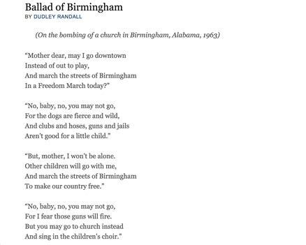 quot ballad of birmingham quot jessa bermudez