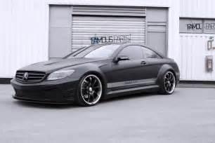 Mercedes Cl 500 Mercedes Cl 500 Black Matte Edition By Parts