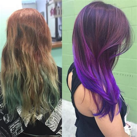 20 purple ombre hair color ideas thick hairstyles 20 purple ombre hair color ideas popular haircuts