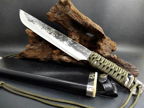 Japanese Handmade Knives - orca don japanese handmade hatchet custom knife